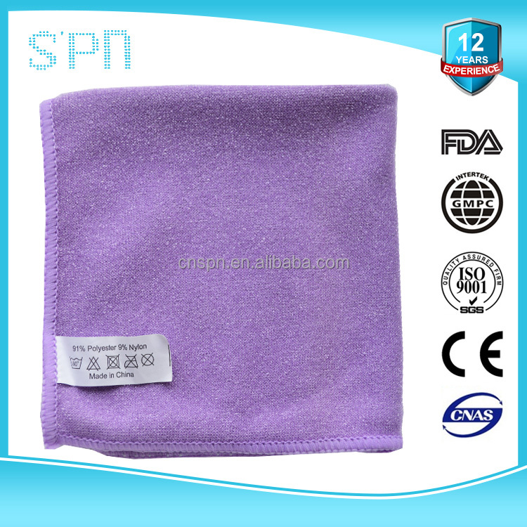 Oil Absorbent Microfiber Dish Cleaning Cloth