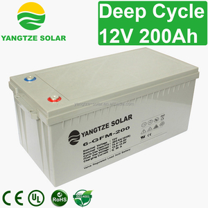 deep cycle 12v 200ah agm toyo battery