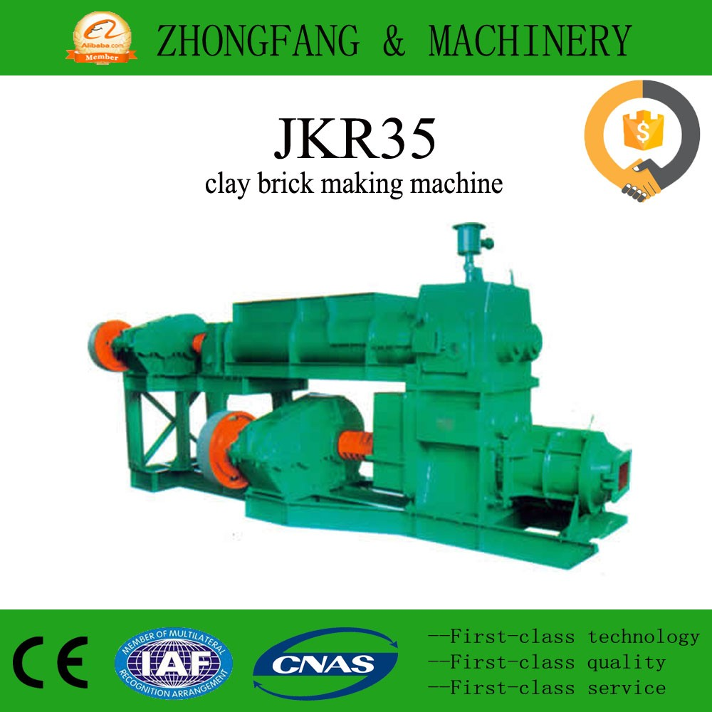 2017 latest technology fired clay brick making machine in Congo