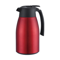 New Products 2L Thermal Carafe Double Wall 304 Stainless Steel Vacuum Coffee Tea Pot with handle