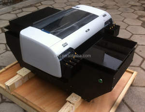 A2 LED UV Cured Printer,UV Flatbed Printer Multifunction White Ink Printer 420*900mm Print Size