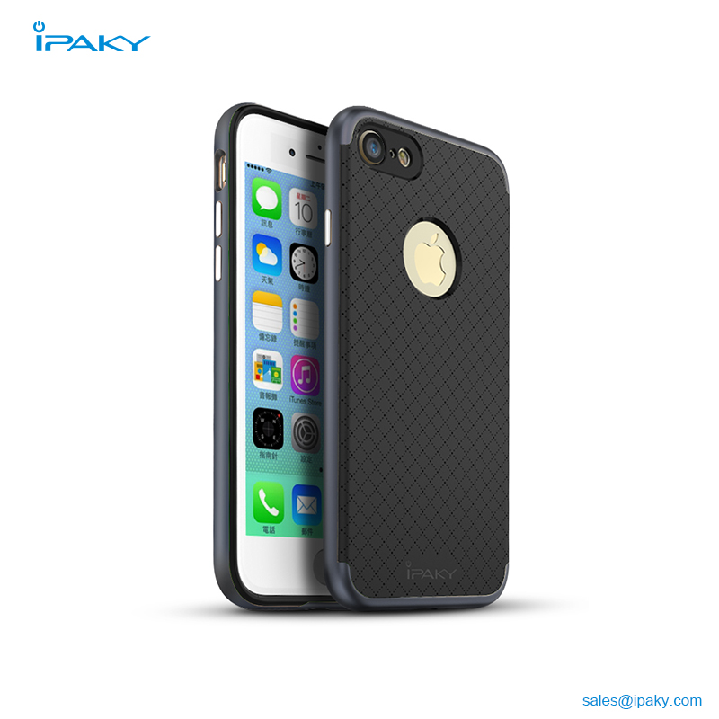 05dd0b5b245 Best Selling Shenzhen Ipaky Retail Packaging Phone Accessories Pc Bumper  Tpu Back Case For Iphone 7 Case
