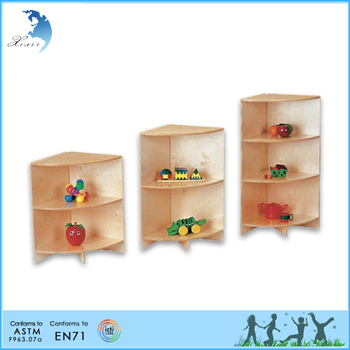 Wooden Montessori Materials Boby Changing Table With Steps