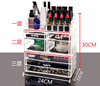 Customized Clear Acrylic Jewelry Organizer desktop organizer