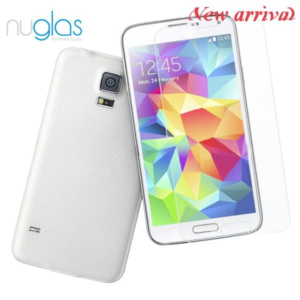Premium Tempered Glass Screen Protector/Stretch film/for Samsung Galaxy S5 phone accessories