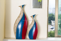 USA Wholesale Modern Beauty Ceramic Flower Vase Decorative Med Vase Deco Home Decoration Arts And Crafts Home Each Is Unique