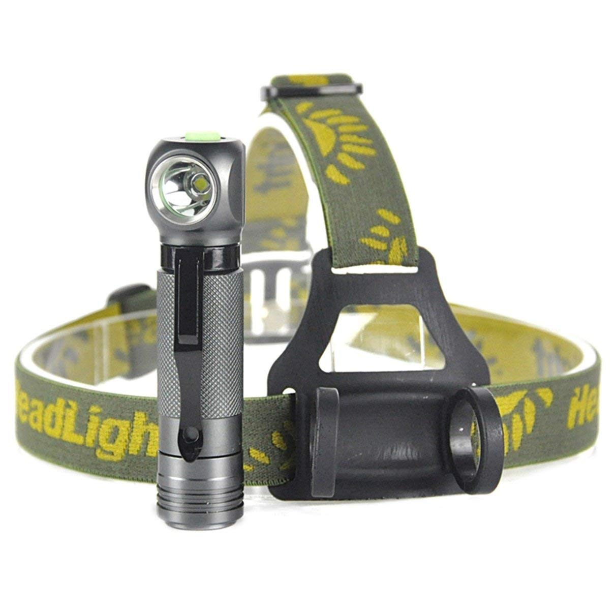 1 Set 1000 Lumen XPL V5 LED Headlamp 3 Modes Flashlights 5W Flashlight Headlight Luxurious Fashionable Ultra Xtreme Tactical Bright Light Waterproof Outdoor Running Hiking Hunting Fishing Lights