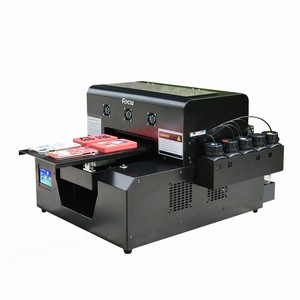 Cheap solvent printer sale used a4 size 6 colors uv led mini flatbed printer