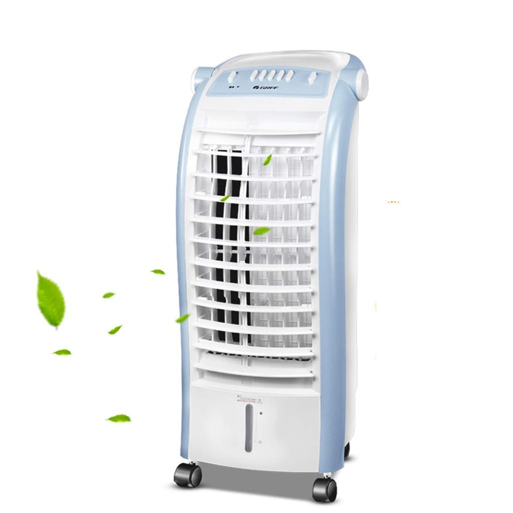 S Type Air Conditioner Fan, Air Cooler Personal Space Cooler, Versatile Design Multipurpose Air Purifier 4 Fan Speed, Air Ionizer Compact Home
