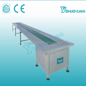 Top quality stainless steel nylon belt conveyor table Conveyor /Belt Conveying Machine /Conveyor Machine sale