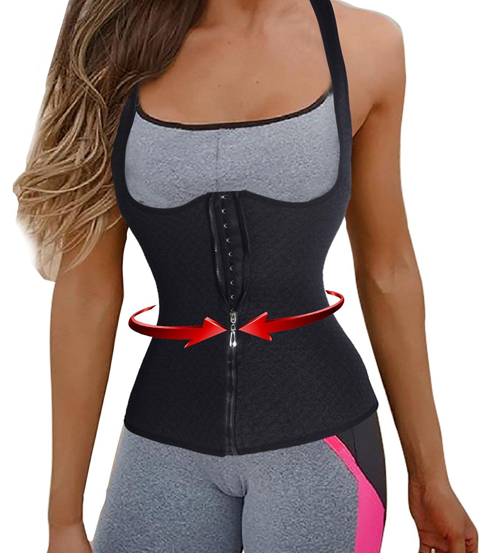 Womens Sport Shapewear Vest Waist Trainers Cinchers Underbust Waist Training Corsets