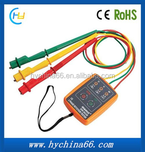 High Accurate three Phase Sequence Indicator New Brand Phase tester