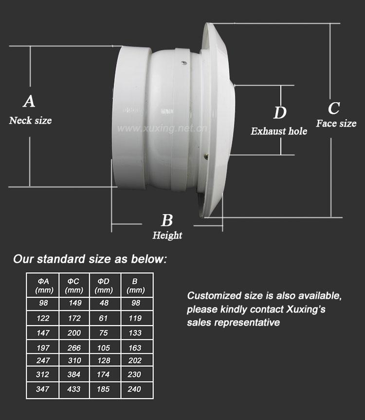 Aluminum Ball Jet Diffuser Directional Air Vent Jet Nozzle