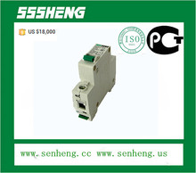 DZ47 C45 single phase 1P 6A/ 10/A /13A/ 16A /25A /32A /40A/ 50A/ 63A miniature circuit breaker /MCB