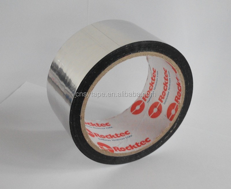 aluminum foil self adhesive tape air condition flexible duct seam sealing