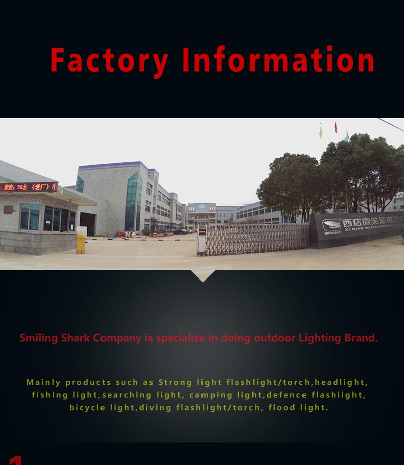 Smilingshark xách tay P70 + SMD led 80 watts cao tìm kiếm ánh điện USB có thể sạc lại tìm kiếm ánh với ngân hàng điện