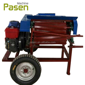Abutilon peeling machine / banana fiber extracting machine