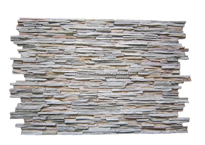 Aislamiento de espuma r gida poliuretano piedra 3d con - Panel piedra precios ...