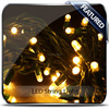 Decorative project indoor-outdoor led curtain fairy light