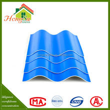 High quality products light weight 2 layer plastic pvc colored roof