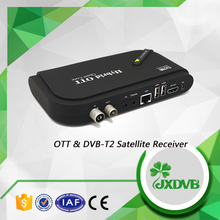 Newest USB IPTV Receiver Decoder Types DVB-T2 Hybird Set Top Box