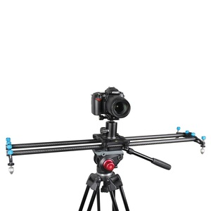 YELANGU Wholesale Factory Price 80cm Carbon Fiber Track Slider L80T for DSLR Video Camera