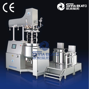 Sina-Ekato product: High quality Cream Making Machine, SME Different way mixing vacuum emulsifying mixer