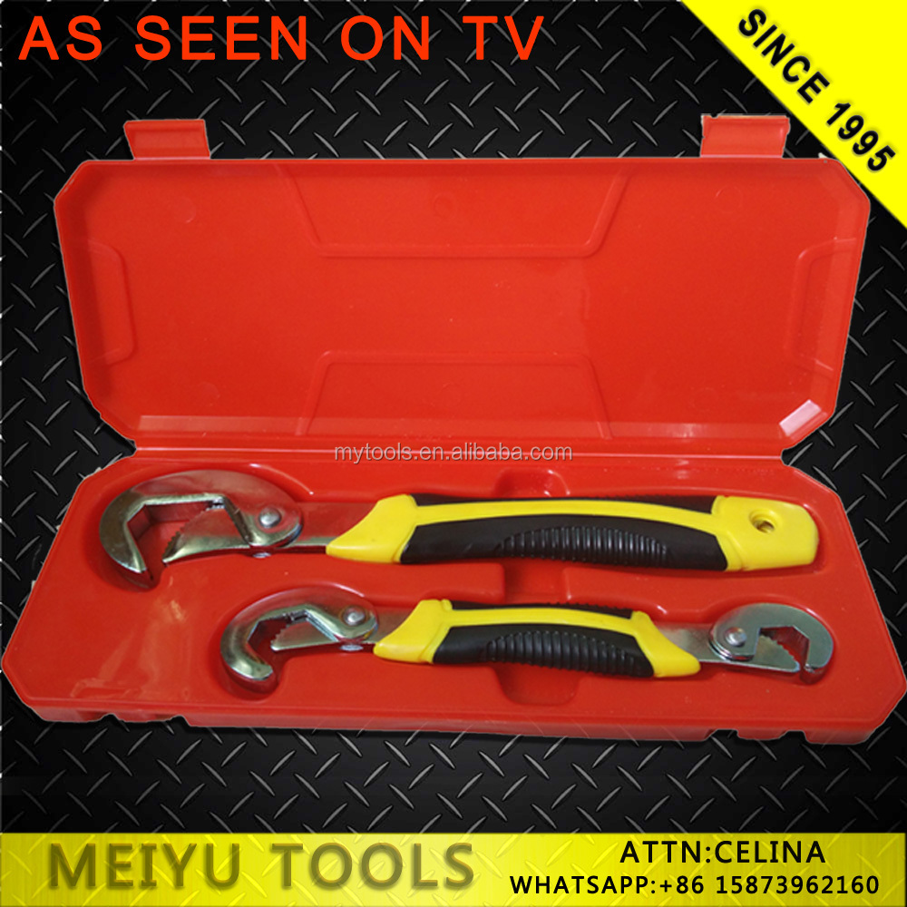 AS SEEN ON TV SNAP N GRIP UNIVERSAL WRENCH SET 9-32MM DIY TOOL