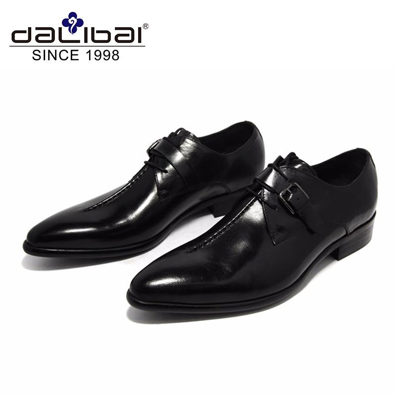 Men Design Monk Cow Shoes Leather Dress Strap BOPwSq4T