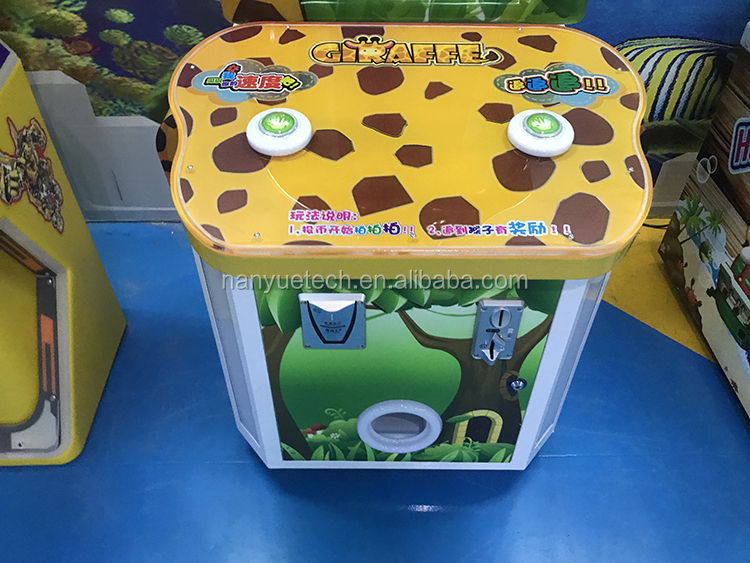 Giraffe Timberjack amusement game machine coin pull game machine