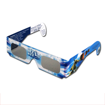 Cinema Normal TV Polarized Paper 3d Linear glasses for imax 3d glasses polarized filter viewer
