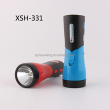 Plastic small flash LED light,rechargeable torch LED rechargeable flashlight