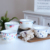 Custom Made Stackable Porcelain Square  Serving Bowl Set