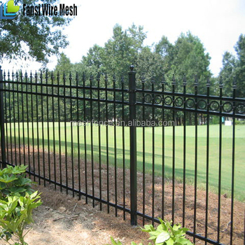 China Supplier Fencing Trellis Gates Type Iron Fence Panel