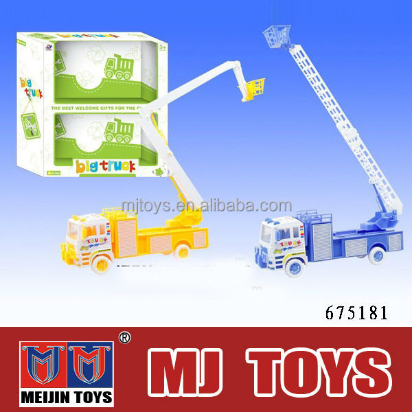 plastic kid friction toy truck car trailer truck toy