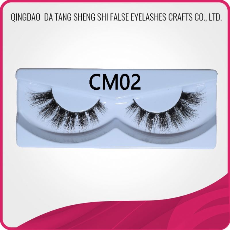 China manufacture fine quality private label mink 3d eye lashes false eyelashes