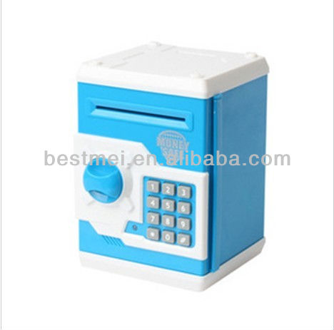 Kids digital plastic ATM money bank