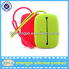 Christmas gift of silicone cosmetic bag / rubber wallet / Silicone Key chain bag