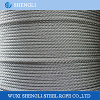 Galvanized And Ungalvanized High Tensile Strength Steel Wire Rope