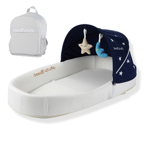 Pack and play baby crib sleigh french