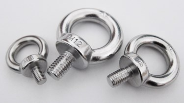 High Polished Stainless Steel AISI304 DIN580 Lifting Metric A4 Eye Bolts M8 Eye Bolt