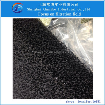 Pond Foam Carbon Air Filter Mat/sponge Activated Carbon Filter ...