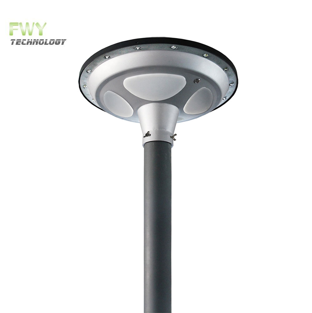 ufo led solar park light