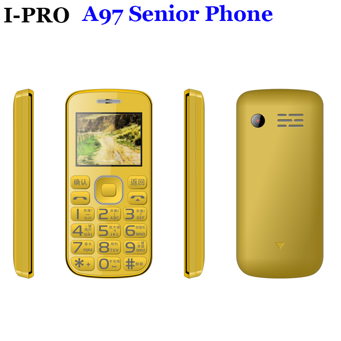Fashion Design Senior Feature Mobile Phone Old Man Bar Phone