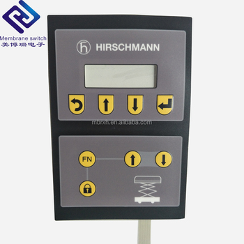 Customized High Quality FPC/PET capacitive touch button keypad membrane switch