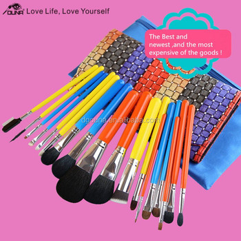 The Most Expensive Top Quality Sable Hair Makeup Brushes Set From ...