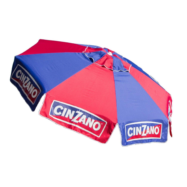 Get Quotations · 8 Foot Cinzano Vinyl Umbrella   Market Style Fiberglass  Ribs
