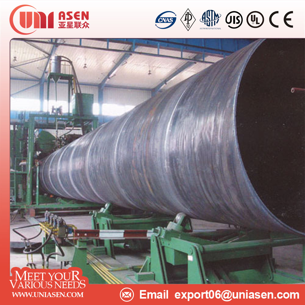 api 5l astm a53 ssaw steel pipe with large diameter