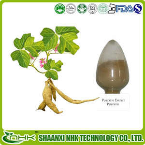 chinese herbal pueraria mirifica powder pure puerarin kudzu extract