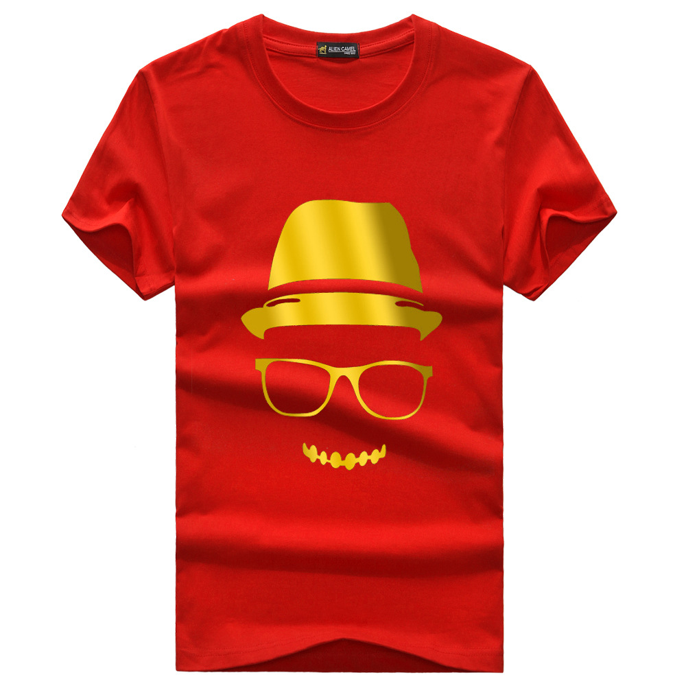 Design t shirt china -  2015 Fashion Casual Free Shipping For Man 100 Cotton T Shirts Men Shorts Sleeve